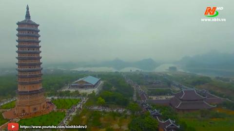 Điểm đến Du lịch: Tham quan bảo tháp xá lợi chùa Bái Đính