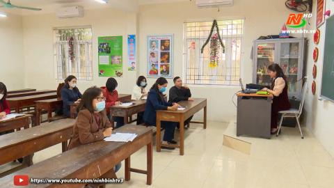 Diễn đàn giáo dục: Giáo dục Ninh Bình linh hoạt trong dạy học để phòng chống COVID-19