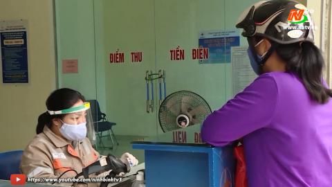 Điện lực Ninh Bình đảm bảo phòng chống dịch và sản xuất kinh doanh.