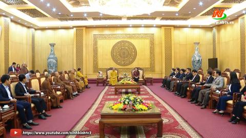 Đoàn đại biểu các chức sắc tôn giáo chúc Tết Tỉnh ủy, HĐND, UBND tỉnh