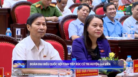 Đoàn ĐBQH tỉnh tiếp xúc cử tri huyện Gia Viễn
