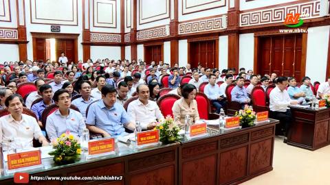 Đoàn ĐBQH tỉnh tiếp xúc cử tri huyện Hoa Lư