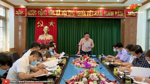 Đoàn kiểm tra số 4 : Kiểm tra công tác chuẩn bị bầu cử tại Thành phố Tam Điệp.