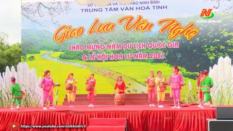 Độc đáo các hoạt động văn hóa, văn nghệ tại Lễ hội Hoa Lư