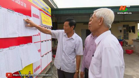 Đồng bào công giáo Kim Sơn hướng về ngày hội bầu cử