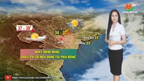 Dự báo Thời tiết đêm 12 ngày 13/05/2021.