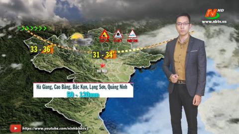 Dự báo thời tiết đêm 17 ngày 18/05/2021.