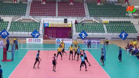 Giải bóng chuyền cúp Hoa Lư lần thứ XIII năm 2019. Hà Tĩnh - Thể Công