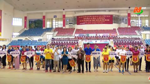 Giải cầu lông các CLB cúp Phát thanh - Truyền hình tỉnh Ninh Bình