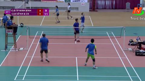 Giải cầu lông các CLB - Cup PT&TH tỉnh Ninh Bình lần thứ XXII - năm 2018