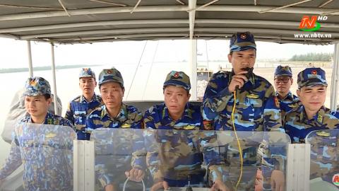 Giáo dục quốc phòng an ninh: Bộ đội Biên phòng Ninh Bình thực hiện tốt bảo vệ an ninh biên giới biển
