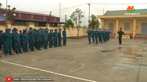 Giáo dục quốc phòng an ninh:Đảm bảo tốt công tác huấn luyện trong điều kiện phòng chống dịch COVID19