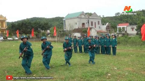 Giáo dục quốc phòng an ninh: Đưa Luật Dân quân tự vệ vào cuộc sống