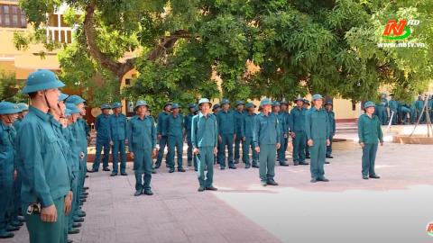 Giáo dục quốc phòng an ninh: Kim Sơn nâng cao chất lượng huấn luyện dân quân tự vệ