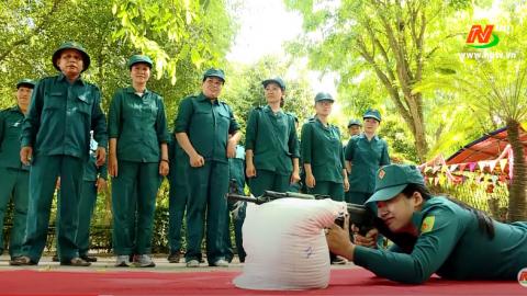 Giáo dục quốc phòng an ninh: Nâng cao chất lượng xây dựng và huấn luyện dân quân tự vệ