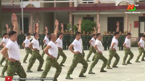 Giáo dục quốc phòng an ninh:Nâng cao trình độ chỉ huy trưởng quân sự cấp xã
