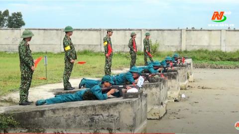 Giáo dục quốc phòng an ninh: Phong trào thi đua quyết thắng của Bộ Chỉ huy Quân sự tỉnh