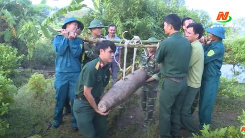 Giáo dục quốc phòng an ninh: Tăng cường khắc phục hậu quả bom mìn vật nổ trên địa bàn tỉnh