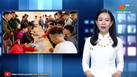Giáo dục quốc phòng an ninh: Yên Mô thực hiện tuyển quân năm 2020