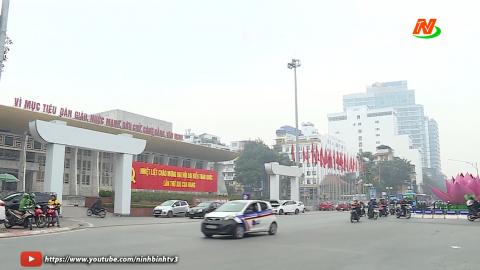 Hà Nội trước ngày khai mạc Đại hội XIII của Đảng