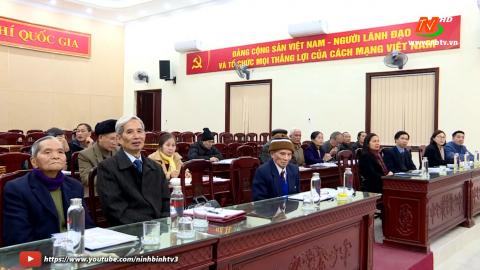 Hội cựu giáo chức tỉnh tổng kết công tác hội năm 2020