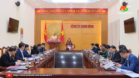 Hội nghị Ban thường vụ tỉnh ủy