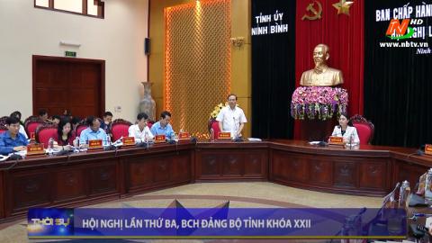 Hội nghị lần thứ 3, BCH Đảng bộ tỉnh khóa XXII
