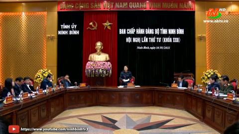 Hội nghị lần thứ tư, Ban chấp hành Đảng bộ tỉnh khóa XXII