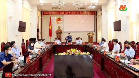 Hội nghị sơ kết công tác bầu cử trên địa bàn tỉnh.