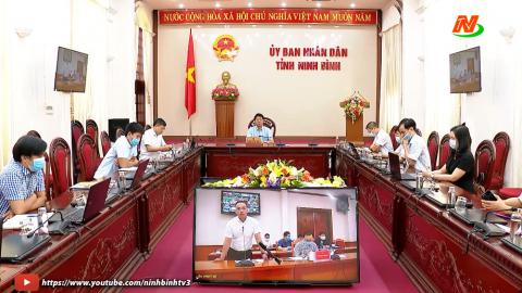 Hội nghị trực tuyến thúc đẩy tiêu thụ nông sản.