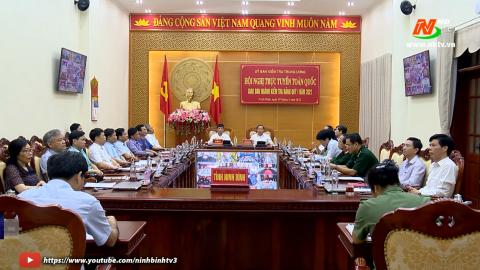 Hội nghị trực tuyến toàn quốc giao ban ngành kiểm tra đảng quý I
