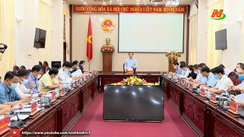 Hội nghị UBND tỉnh phiên thường kỳ tháng 5