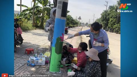 Hội Phụ nữ thành phố Ninh Bình: Đơn vị điển hình xây dựng văn minh đô thị