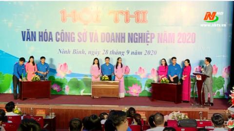 Hội thi văn hóa Công sở và Doanh nghiệp năm 2020
