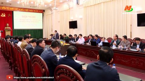 Họp Ban chỉ đạo phòng chống dịch Covid 19 tỉnh Ninh Bình