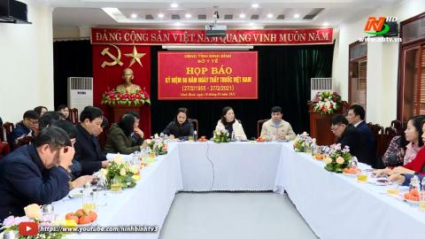 Họp báo tuyên truyền kỷ niêm 66 năm ngày Thầy thuốc Việt Nam