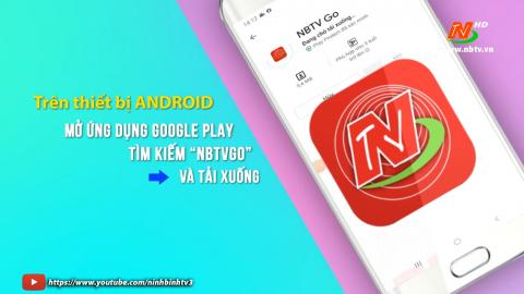 Hướng dẫn cài đặt ứng dụng NBTVgo