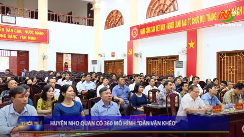 """Huyện Nho Quan có 360 mô hình """"Dân vận khéo"""""""
