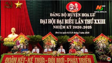 Khai mạc Đại hội đại biểu Đảng bộ huyện Hoa Lư lần thứ XXIII
