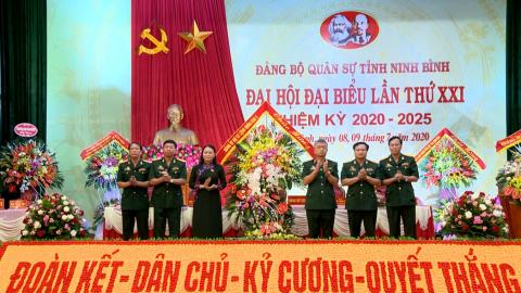 Khai mạc Đại hội đại biểu Đảng bộ Quân sự tỉnh lần thứ XXI