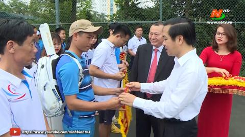 Khai mạc giải quần vợt các CLB Tỉnh Ninh Bình Lần thứ XIV