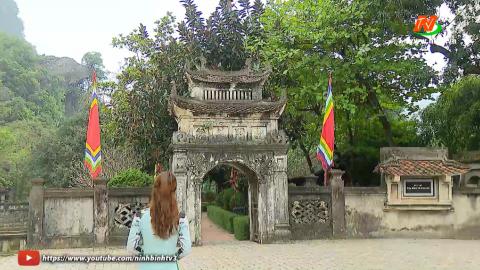 Khám phá cùng Ninh Bình TV: Linh thiêng đền thờ vua Đinh Tiên Hoàng