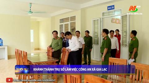 Khánh thành trụ sở làm việc công an xã Gia Lạc