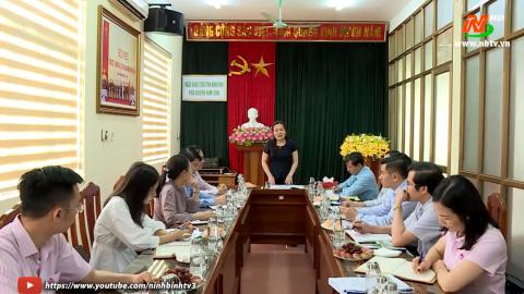 Khảo sát việc thực hiện tín dụng Chính sách Xã hội tại Kim Sơn
