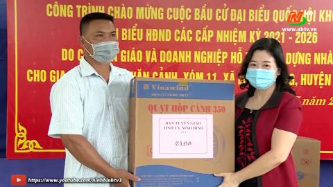 Khởi công xây dựng nhà đại đoàn kết tại Huyện Kim Sơn
