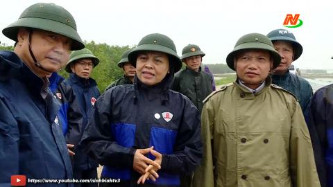 Kiểm tra công tác phòng chống bão số 7