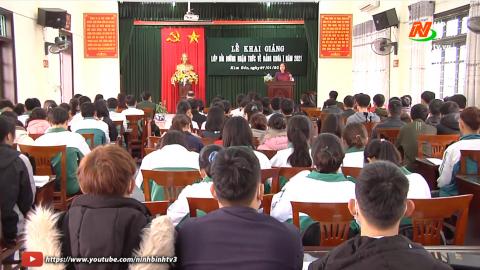 Kim Sơn bồi dưỡng kết nạp Đảng cho đoàn viên thanh niên