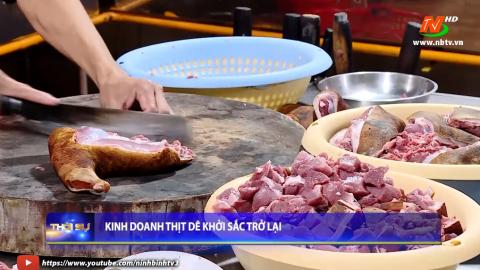 Kinh doanh thịt Dê khởi sắc trở lại