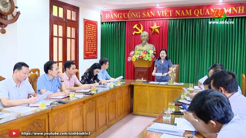 Lấy ý kiến vào Dự thảo Kế hoạch, Thể lệ cuộc thi tìm hiểu về Đại hội Đảng bộ tỉnh