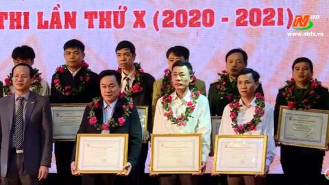Lễ tổng kết Hội thi sáng tạo kỹ thuật tỉnh Ninh Bình lần thứ IX và phát động Hội thi lần thứ X